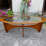 G-planオーバルコーヒーテーブル
