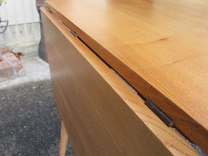 アーコール ドロップリーフテーブル(スモールタイプ、ナチュラル)