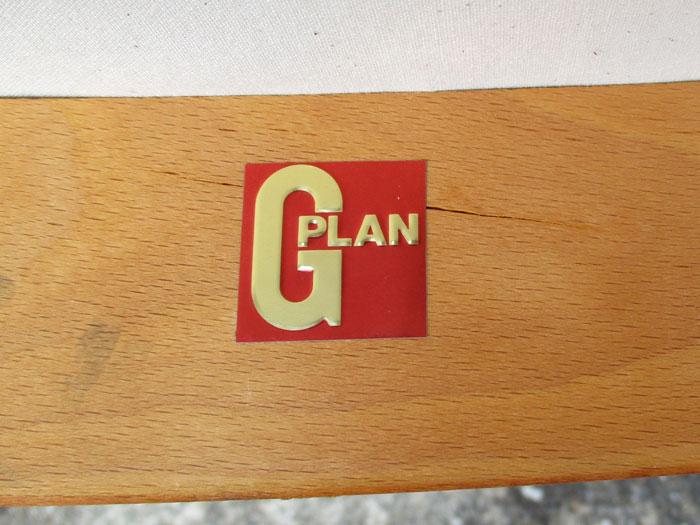 G-plan Xバックアームチェア