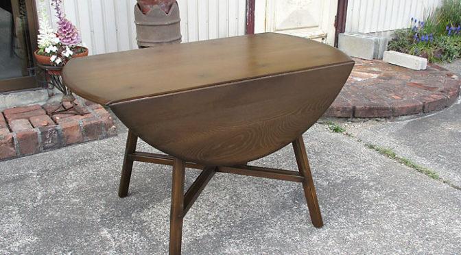 アーコール ercol オールドコロニアル ドロップリーフテーブル