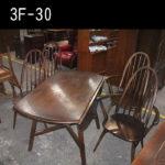 アーコール ドロップリーフテーブル・クエーカーチェア
